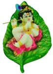 Enchanting Leaf Krishna