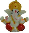 Small Ganesh - Red