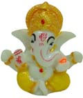 Small Ganesh  - Yellow