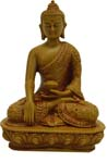 Chandan Buddha - Wood Finish