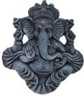 Earthen Blessing Ganesh Stone Finish