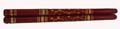 Wooden Dandiya Sticks - Brown
