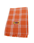 Prayer Towels - Orange + White