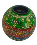 Wood Decor Matka Tea Light Holder -  Large