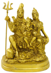 Eternal Antique Shiva Family