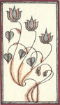Madhubani Greeting Card - Design 12
