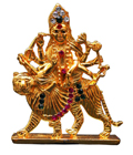 Crystal Brass Poished Durga