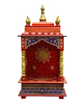 Ethnic Single Idol Mandap