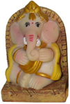 Enchanting Khanji Musical Ganesh