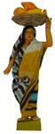 Golu Activity Dolls Fruit Seller - Female