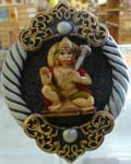 Enchanting Hanuman Medallion