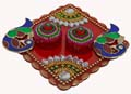 Lustre Diamond Kumkum Tray