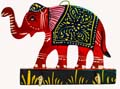 Wood Decor Elephant Key Holder