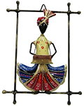 Indian Wrought Iron Decor Pagadi Musican -Harmonia