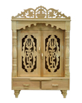 Sevan Wood Door Puja Mandap - 10 x 18