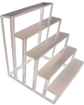 Golu Stand in Steel with Special Coating - 5 Steps