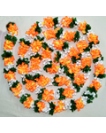 Multi colour fabric Kadambam Flower
