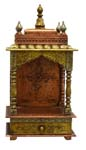 Ethnic Single Idol Mandap - Copper