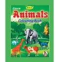Green Animals Colouring Book