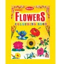 Yellow Flowers Colouring Book