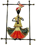 Indian Wrought Iron Decor  Pagadi Musican - Nayana
