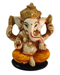 Enchanting Ganesh - Yellow
