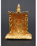 Brass Polished Golden Balaji