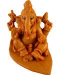 Enchanting Leaf Ganesh