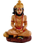 Enchanting Meditating Hanuman