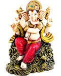 Enchanting Ganesh With Flute