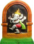 Earthen Ganesh Dancing