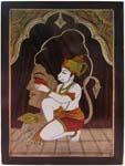 Hanuman Praying