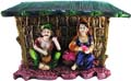 Village Couple in Hut