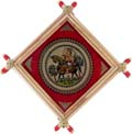 Tribe on Horse Patachitra Wall Hanging