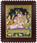 Bejeweled Butter Krishna