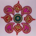 Lucent Readymade Rangoli Decor