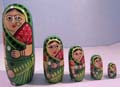 Nesting Doll 5 pcs set