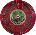 Peacock Puja Plate