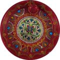 Floral Puja Plate