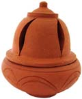 Earthen Cone Burner