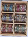 Glass Bangles 2 Doz Pack 2.4