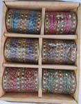 Glass Bangles 2 Doz Pack 2.6