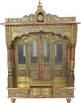 Puja Mandap with Door