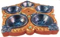 Pancha Diya Royal Blue
