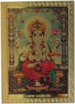 Ganesh Magnetic Sticker