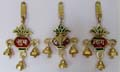 Subh Labh Ganesh Bell Hanging 3 pieces Set