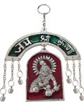 SilveryWall Hanging - Krishna Antique Finish and M