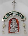 SilveryWall Hanging - Ganesh Antique Finish and Me