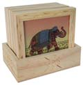 Tea Coaster - Elephant