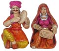 Rajasthani Musician Couple Set